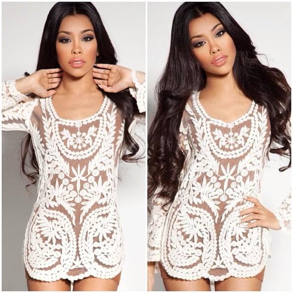 dress bodycon lace