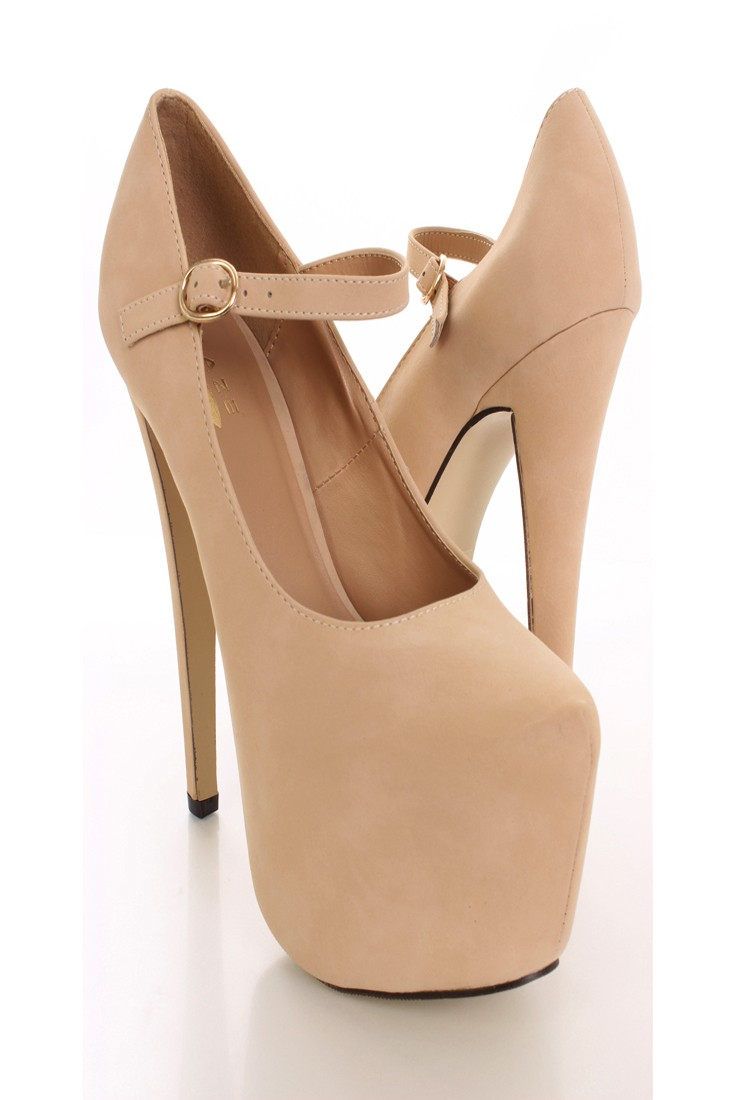 Nude Heels For Women - Is Heel