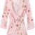 White V Neck Long Sleeve Floral Chiffon Jumpsuit - Sheinside.com