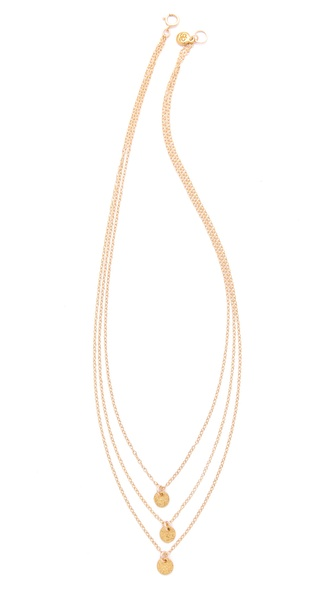 Gorjana Three Disc Necklace | SHOPBOP