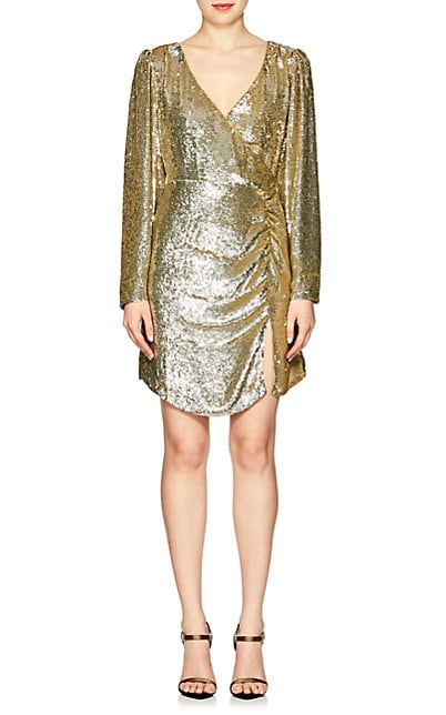 retrofête Roxy Ruched Sequined Dress | Barneys New York