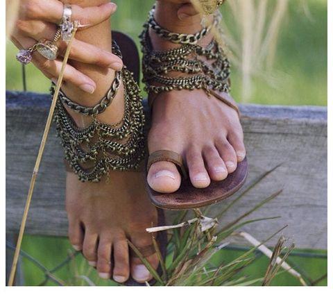 Angelina Anklet — Grace Bijoux