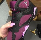 shoes,burgundy,purple,black,basketball,jordans