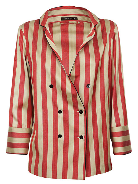 sports shoes 97004 bd683 Ibrigu Striped Peacoat in gold / red