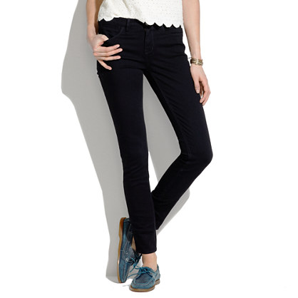 black ankle jeans - Jean Yu Beauty