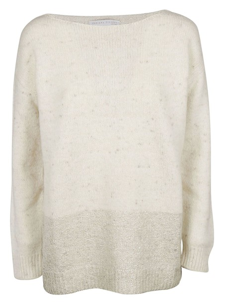 sweater knitted sweater white