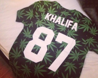 t-shirt wiz khalifa marijuana
