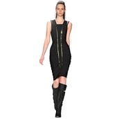 dress,black,sexy,elegant,chic,clubwear,embellished,bqueen,fashion,girl,lady,party,evening dress,bandage,bandage dress,bodycon