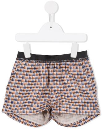 shorts girl yellow orange
