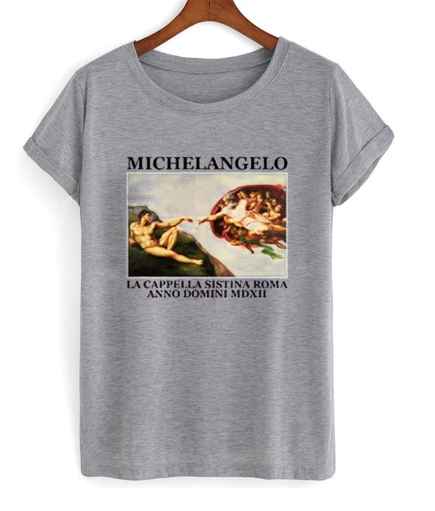 michaelangelo t shirt - Tees Shop Online