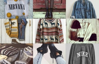 shoes jeans sweater t-shirt jacket