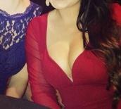 dress,red dress,long sleeve dress,hot dress,sheer