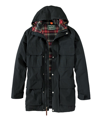 Men's Wool-Lined Mountain Parka