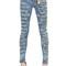 Skinny destroyed washed denim jeans