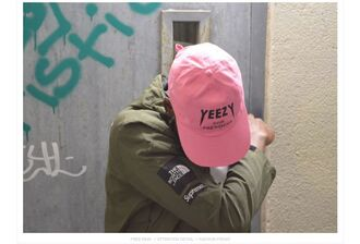 hat yeezy drake streetwear streetstyle pink cap hip hop harajuku indie vintage quote on it fashion summer bomber jacket kanye west yeezy for president