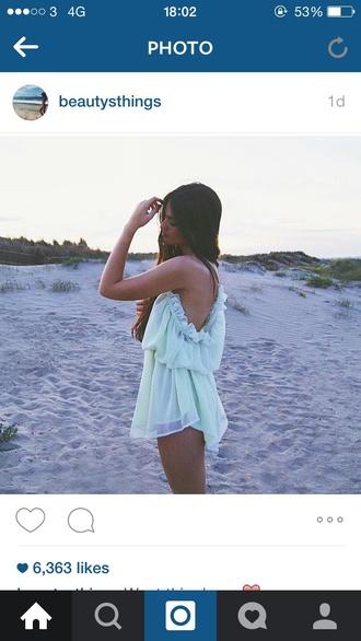 dress menthol dress menthol color mint dress summer dress