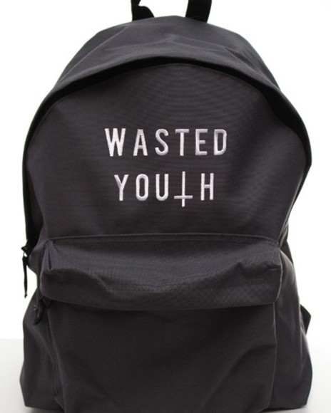 bag backpack teeisland swag hipster hipsta uk usa europe geek wasted youth