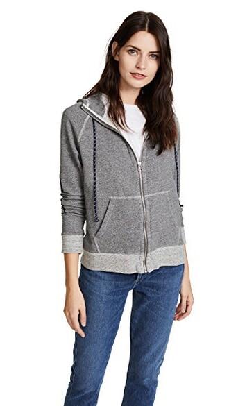hoodie high high neck love grey heather grey sweater