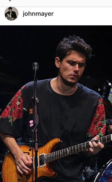 shirt john mayer roses mens t-shirt