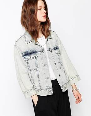 Cheap Monday | Cheap Monday Folded Denim Jacket at ASOS