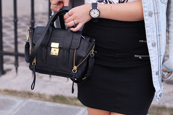 elodie in paris blogger jacket top bag sunglasses