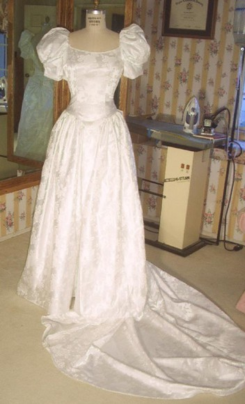 dress wedding clothes vintage wedding dress