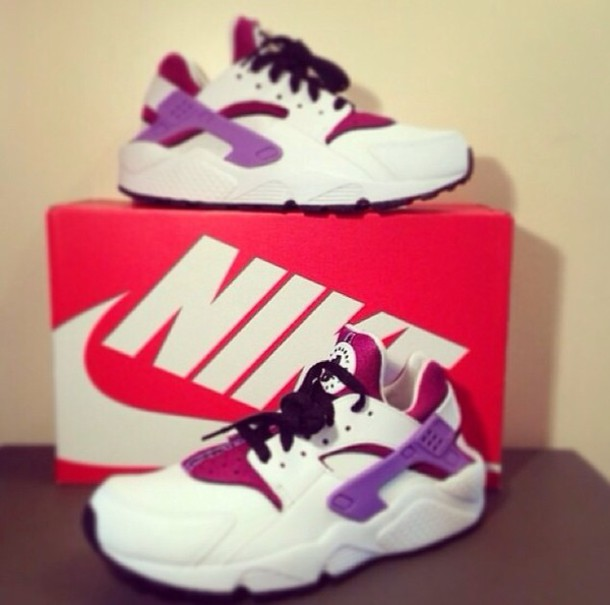 shoes nike pink trainers white