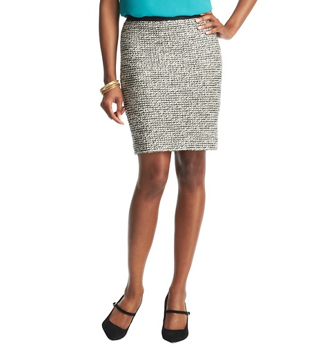 Textured Tweed Pencil Skirt | Loft