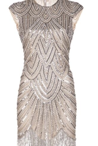 dress new year's eve embellished the great gatsby