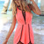 Pink Jump Suits/Rompers - Neon Pink Playsuit with Black | UsTrendy
