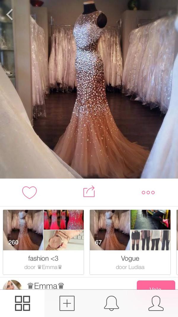 vogue dress glitter dress pink dress