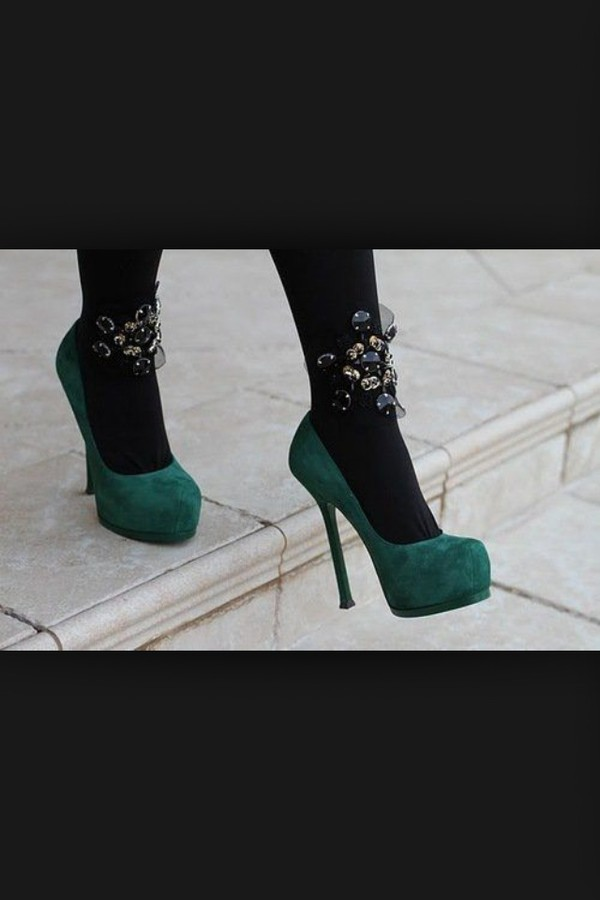 shoes green heels cute platform shoes high heel dark so bad