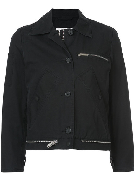 Proenza Schouler jacket women cotton black