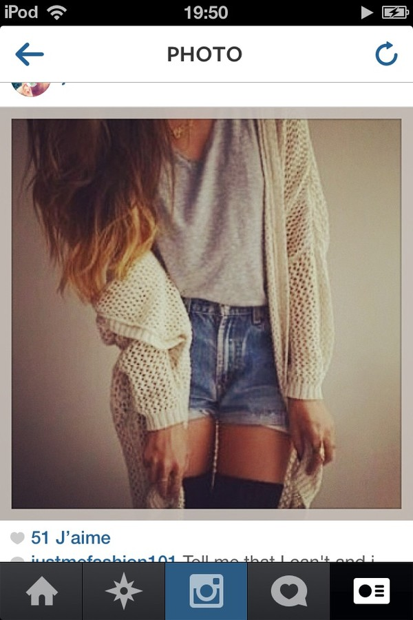 jacket t-shirt shorts