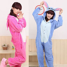 Hot Unisex Kigurumi Pyjamas Erwachsene Anime Cosplay Onesie Stich S-XL