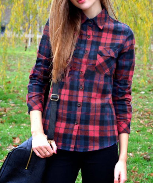 Shelby flannel shirt