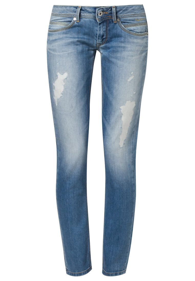 Pepe Jeans ARIEL - Slim fit jeans - blue - Zalando.co.uk