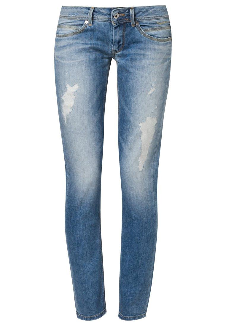 Pepe Jeans ARIEL - Slim fit jeans - blue - Zalando.co.uk