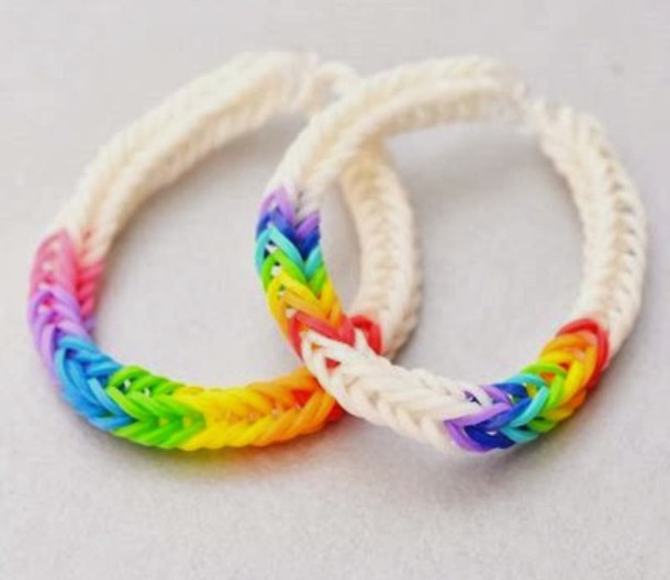 jewels bracelets rainbow