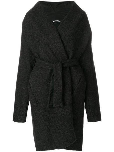 Stefano Mortari coat women wool grey