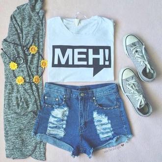 cardigan tumblr outfit