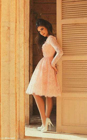 dress long sleeve dress wedding dress