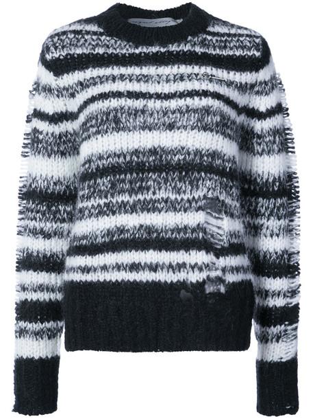 Raquel Allegra top knitted top women mohair black