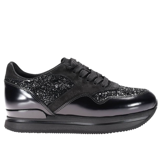 Hogan sneakers. women sneakers shoes black
