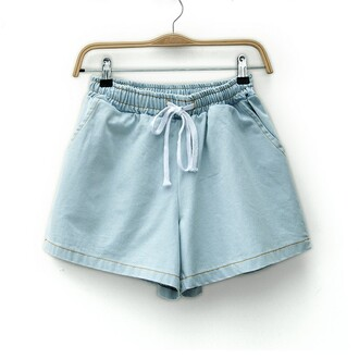 blue jeans shorts denim denim shorts high waisted shorts beach