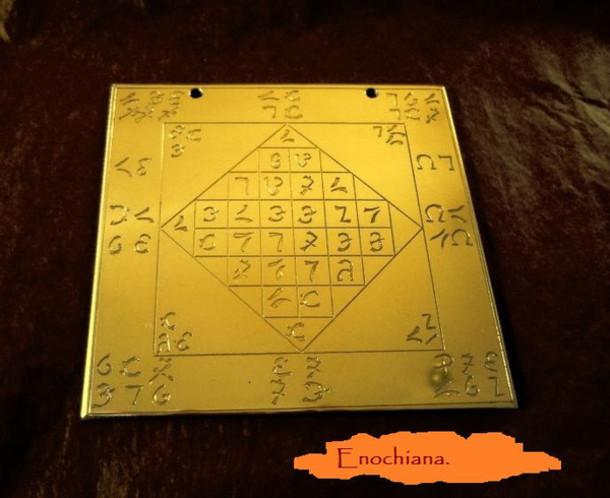 Lamen And Magick Esoteric Spirituality Sir Kelly Enochian Religion Living Home Decor Dee Edward John Occult