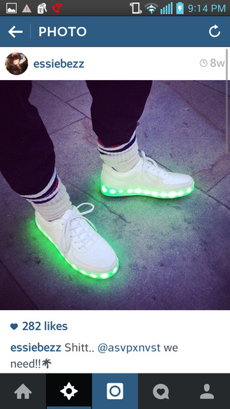 shoes gray white sneakers gray shoes light up shoes
