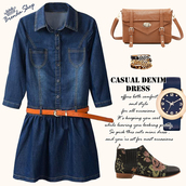denim dress,mini dress,blue dress,cool dress,fall outfits,fall colors