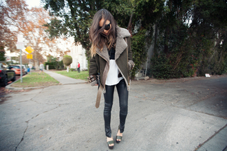 fashion toast jacket sweater tank top pants bag sunglasses jewels shoes