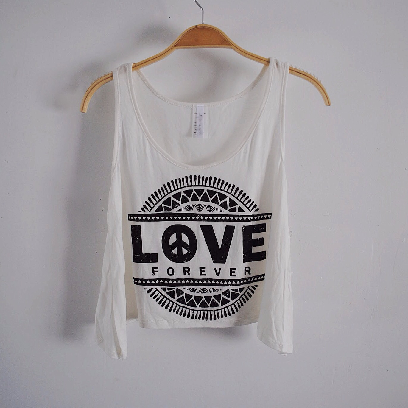 Love forever tank (white) from ootdfash on storenvy